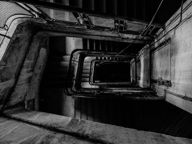 scale condominiali non curate